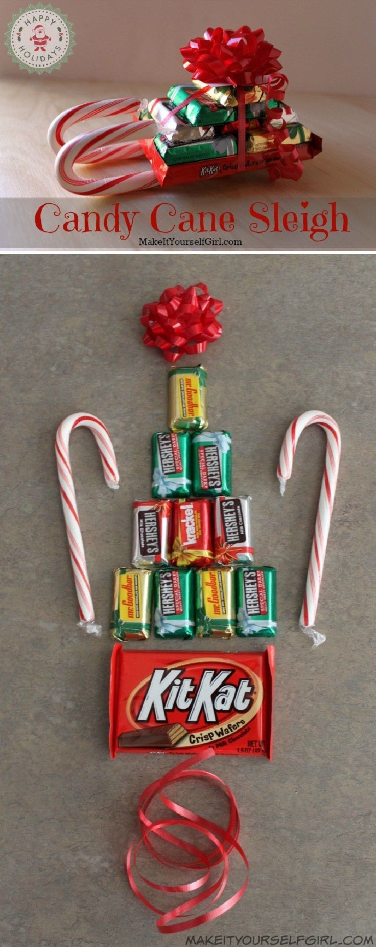 Christmas Candy Favors  Best 25 Christmas party favors ideas on Pinterest