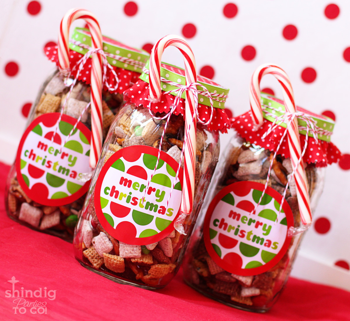 Christmas Candy Favors  Amanda s Parties To Go FREE Merry Christmas Tags and Gift