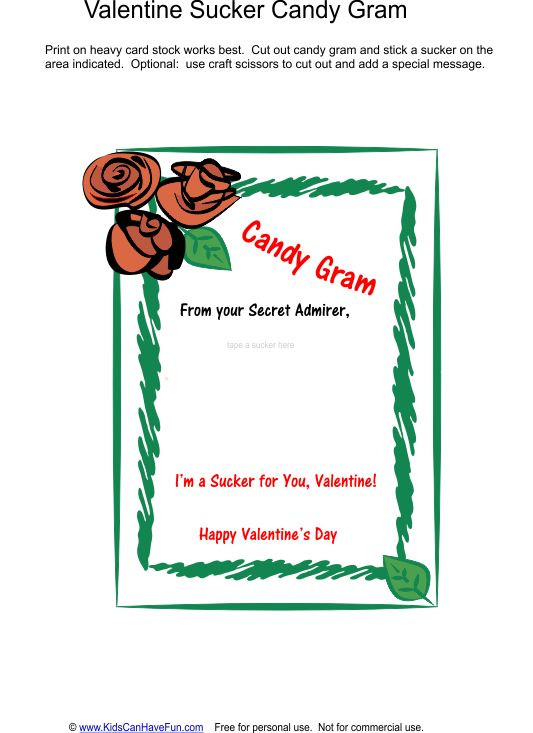 Christmas Candy Gram Template  1000 images about Valentines Day Ideas Candy Grams