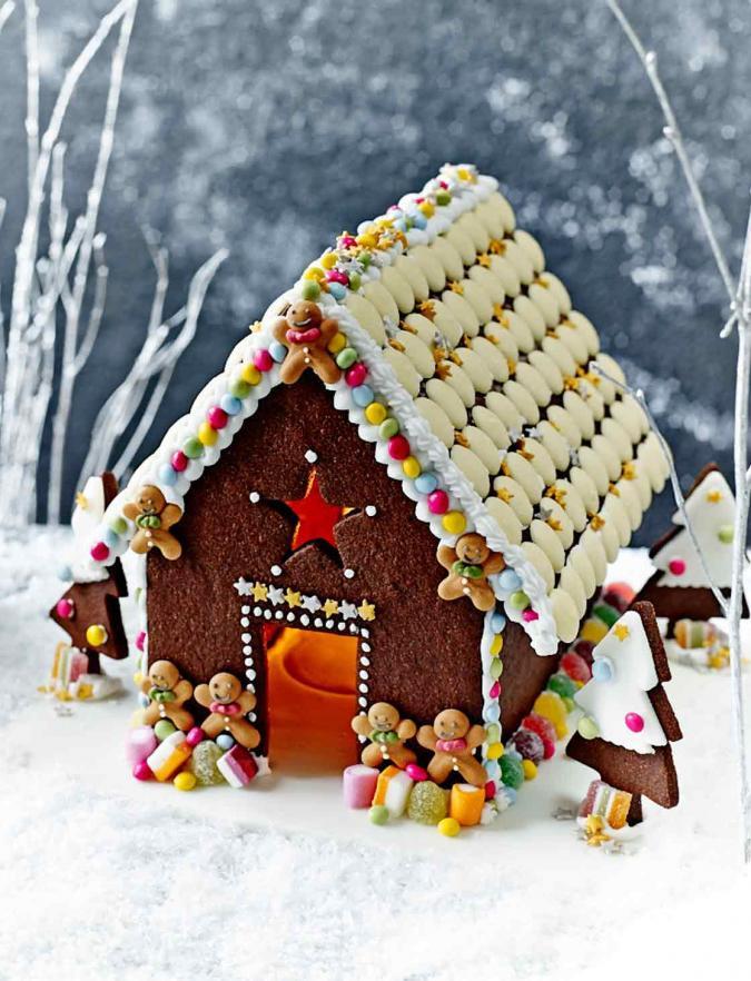 Christmas Candy House  Chocolate Christmas house
