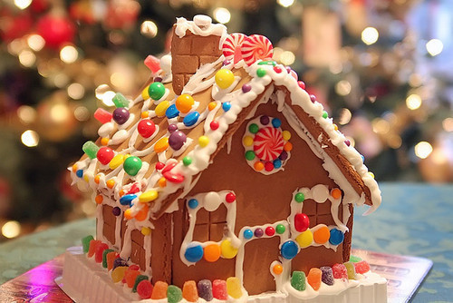 Christmas Candy House  Gingerbread Candy House s and for
