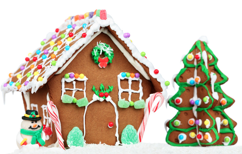 Christmas Candy House  The Sweet Connection Between Candy and Christmas