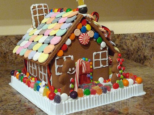 Christmas Candy House  10 best Gingerbread Houses images on Pinterest