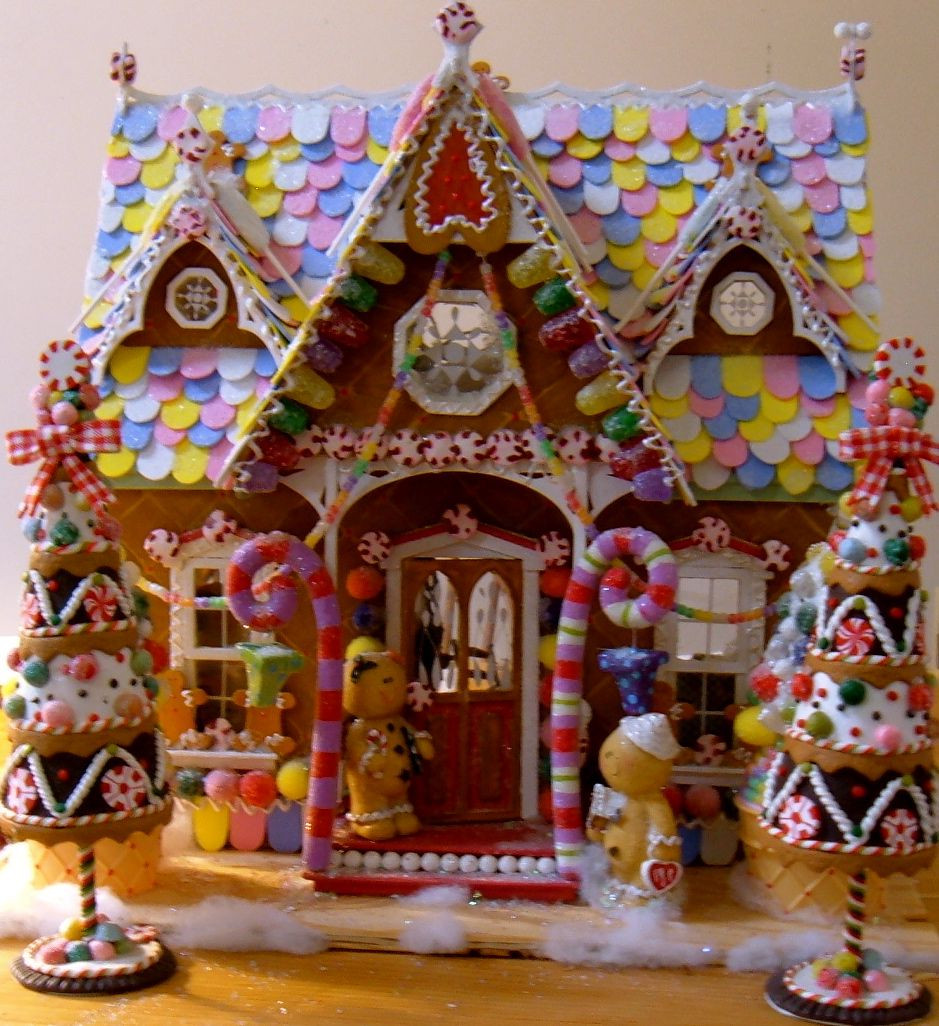 Christmas Candy House  How To Make Fake Gumdrops