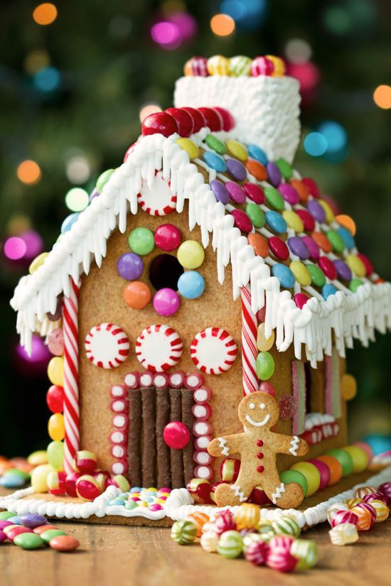 Christmas Candy House  Best 25 Candy house ideas on Pinterest