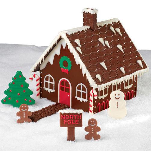 Christmas Candy House  Christmas Chocolate Candy House
