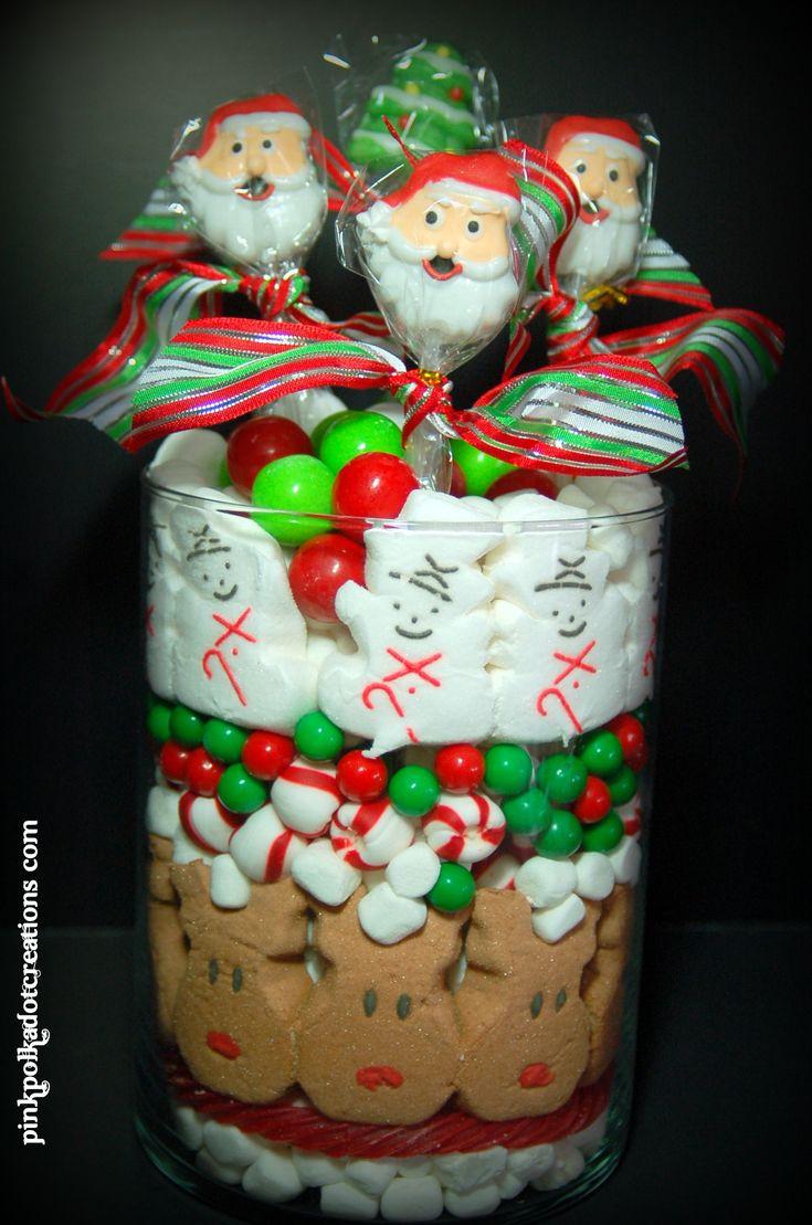 Christmas Candy Jar Ideas  Best 25 Edible centerpieces ideas on Pinterest