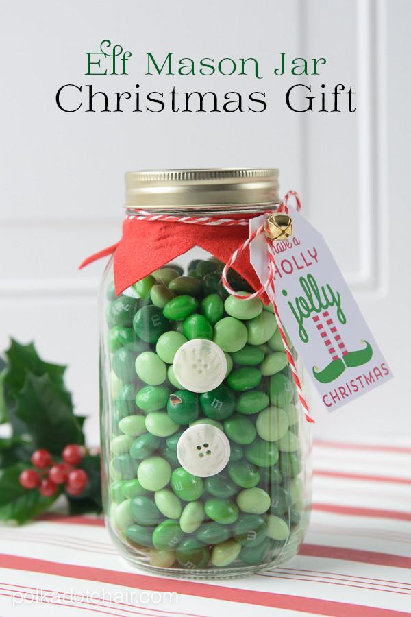 Christmas Candy Jar Ideas  Mason Jar Christmas Gift Ideas The Idea Room