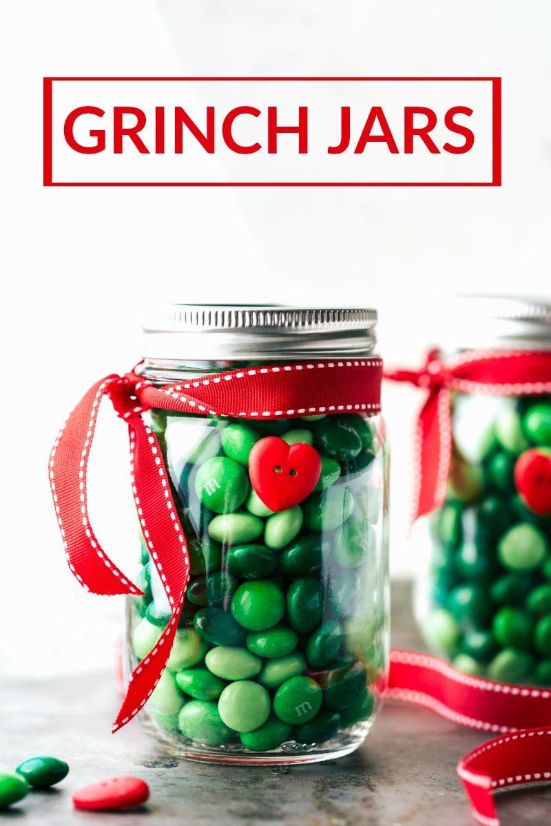 Christmas Candy Jar Ideas  Christmas Mason Jar Gift Ideas