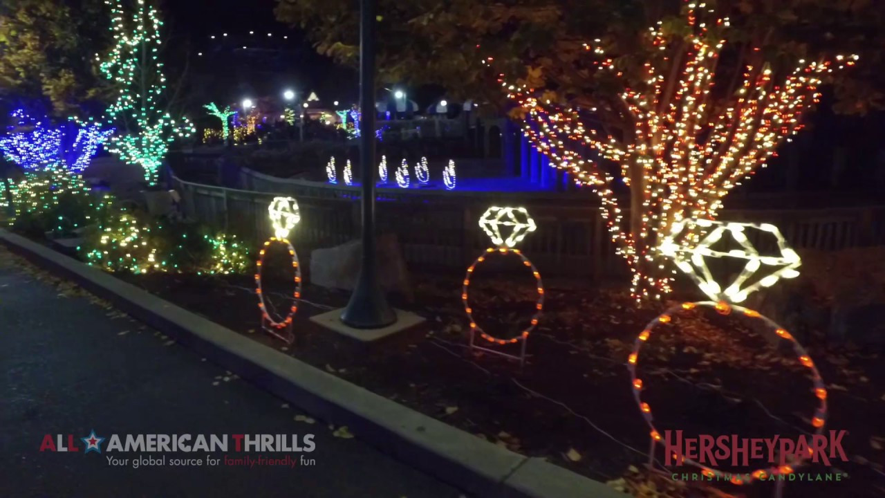 Christmas Candy Lane  Hersheypark Christmas Candylane 12 Days of Christmas 2016