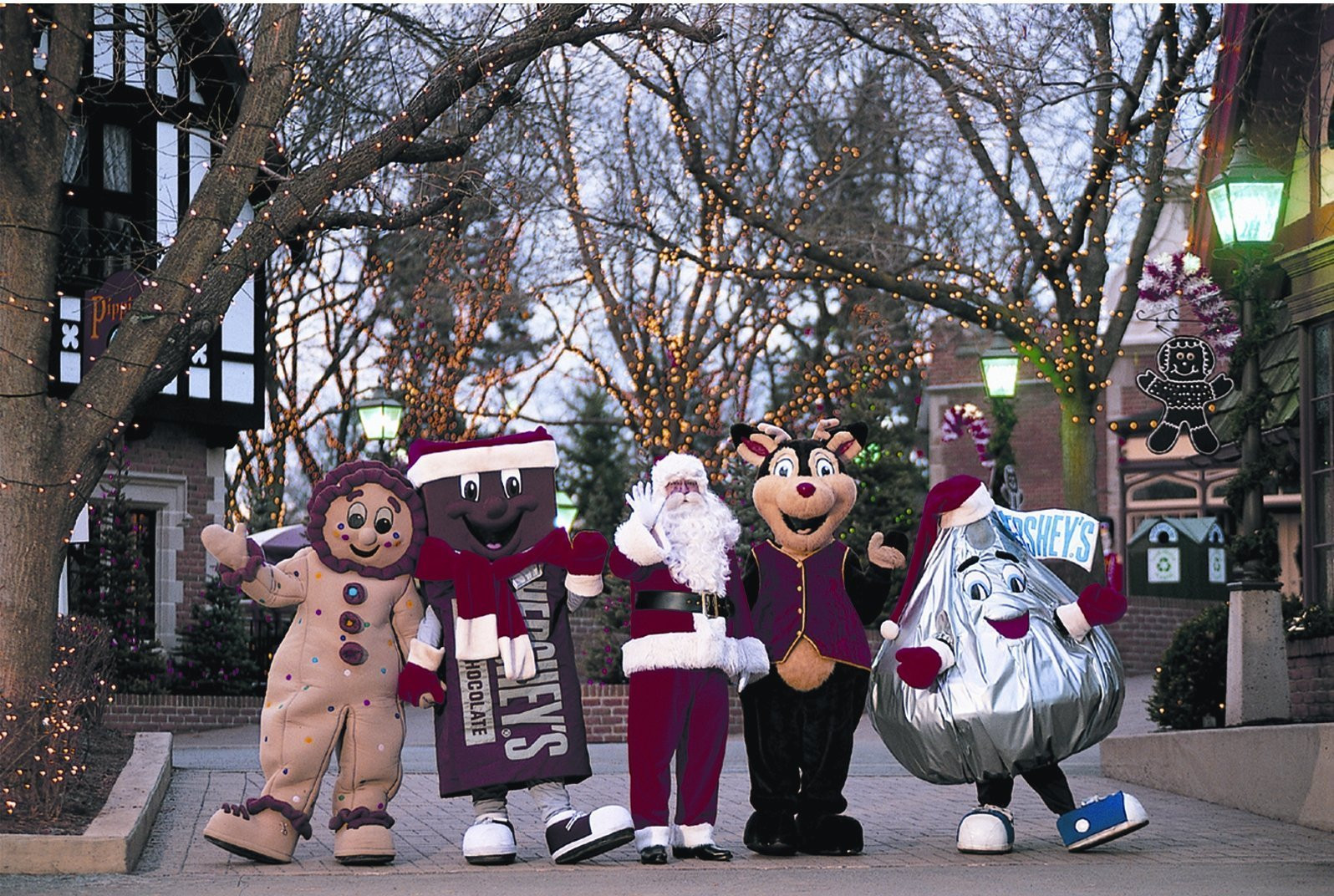 Christmas Candy Lane Hershey Park  Hersheypark s Christmas Candylane will feature Santa s
