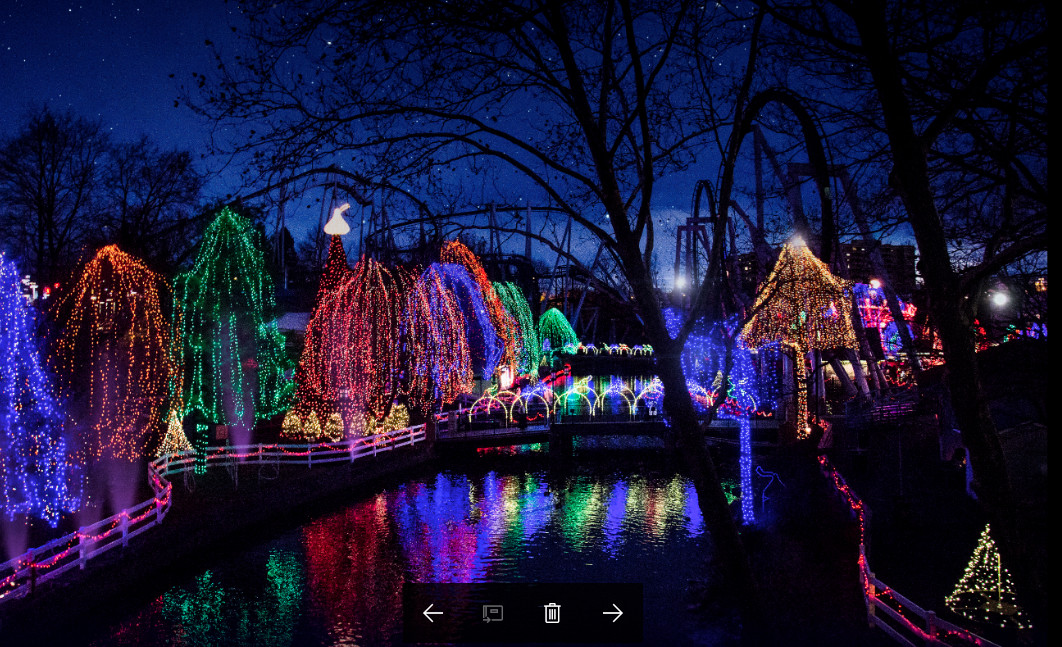 Christmas Candy Lane Hershey Park  6 must see holiday destinations in Pennsylvania