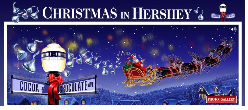 Christmas Candy Lane Hershey Park  Hersheypark Hershey PA Hershey PA Bed and Breakfast