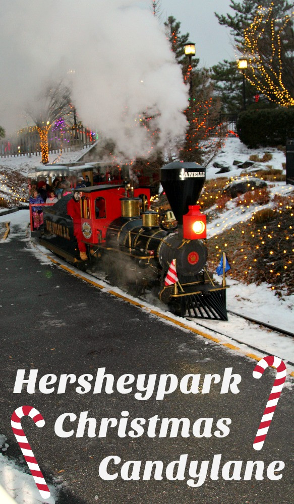 Christmas Candy Lane  Make Memories at Hersheypark Christmas Candylane