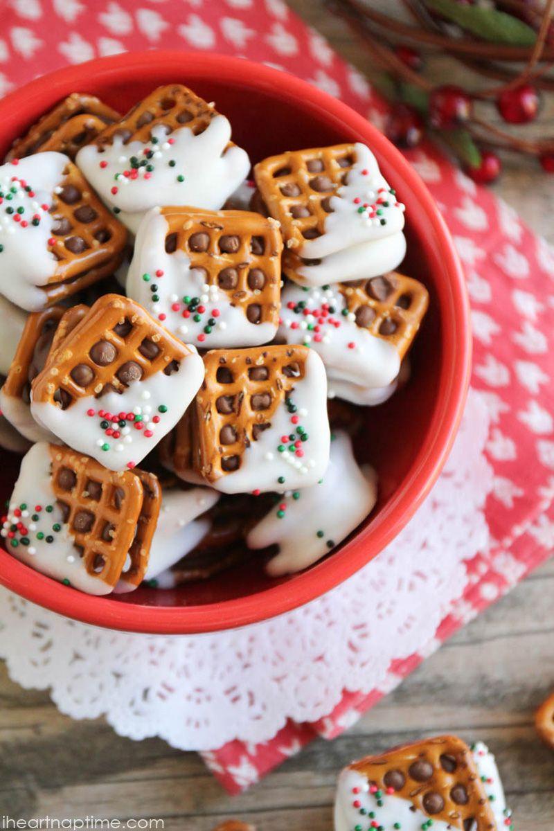 Christmas Candy Recipes Pinterest  Best 25 Rolo pretzel treats ideas on Pinterest