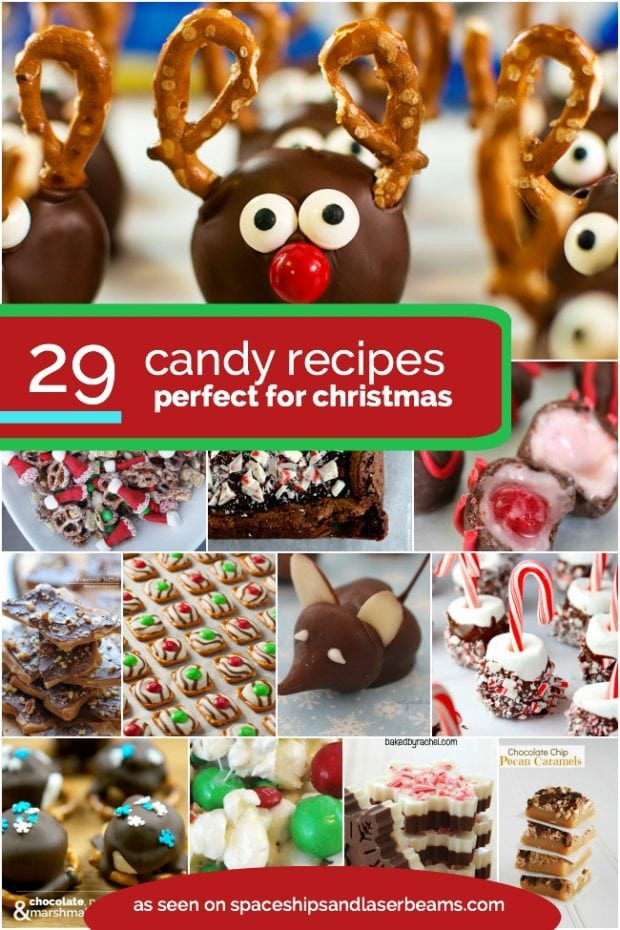 Christmas Candy Recipes Pinterest  29 Christmas Candy Recipes Spaceships and Laser Beams