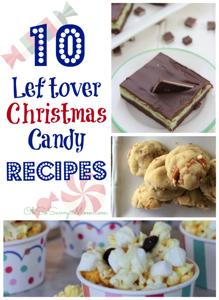 Christmas Candy Recipes Pinterest  10 Creative Leftover Christmas Candy Recipes