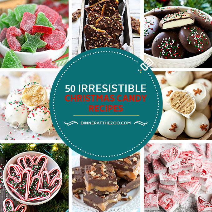 Christmas Candy Recipes Pinterest  50 Irresistible Christmas Candy Recipes Dinner at the Zoo