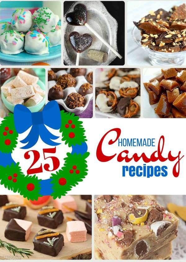 Christmas Candy Recipes Pinterest  Best 25 Homemade candy recipes ideas on Pinterest