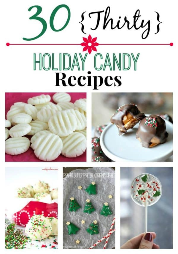 Christmas Candy Recipes Pinterest  30 Holiday Candy Recipes Chocolate Chocolate and More