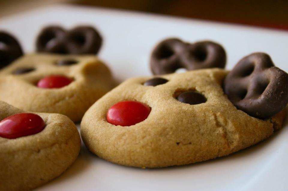 Christmas Candy Recipes Pinterest  Christmas Reindeer Cookies