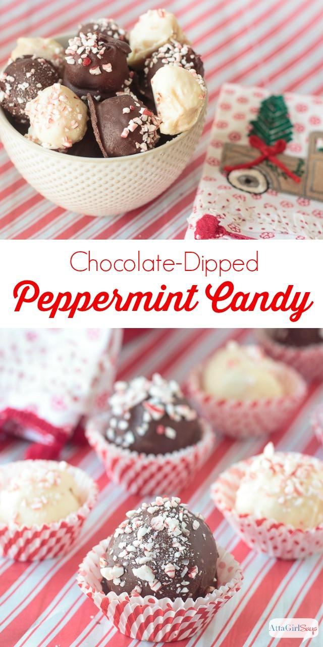 Christmas Candy Recipes Pinterest  Peppermint Christmas Candy Recipes