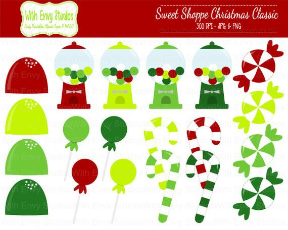 Christmas Candy Sales  Items similar to SALE OFF Christmas Clipart