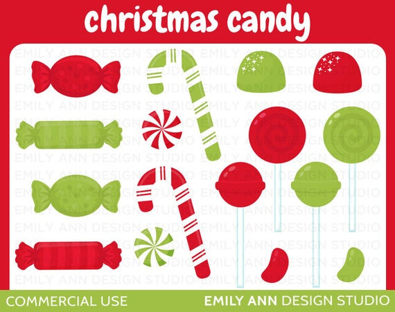 Christmas Candy Sales  OFF SALE Christmas Candy Canes Gumdrops by