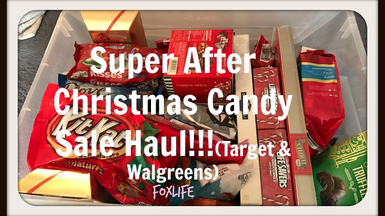 Christmas Candy Sales  Super After Christmas Candy Sale Haul Tar & Walgreens