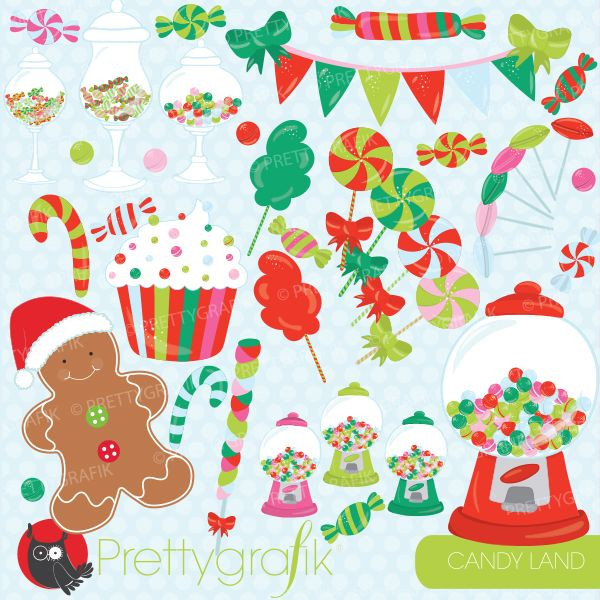 Christmas Candy Sales  Christmas candy clipart for your holiday sweets decorating