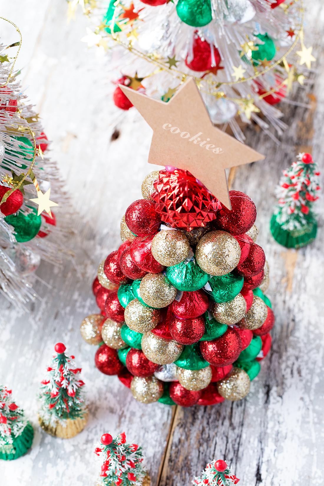 Christmas Chocolate Candy  Candy Christmas Trees