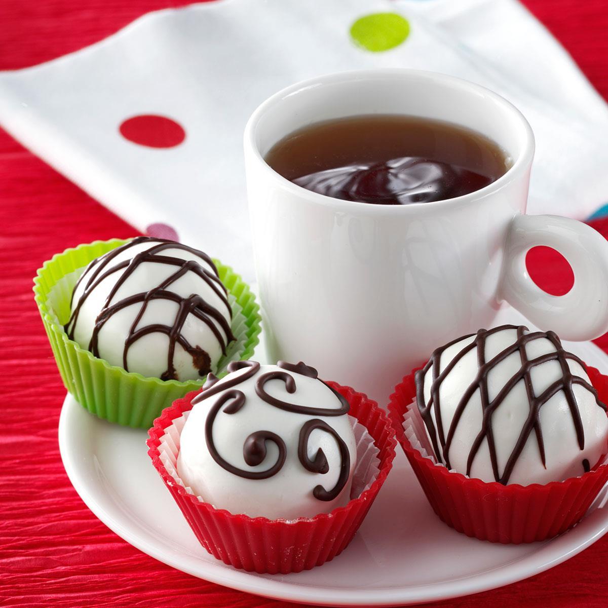 Christmas Chocolate Candy  Cranberry Orange Truffles Recipe
