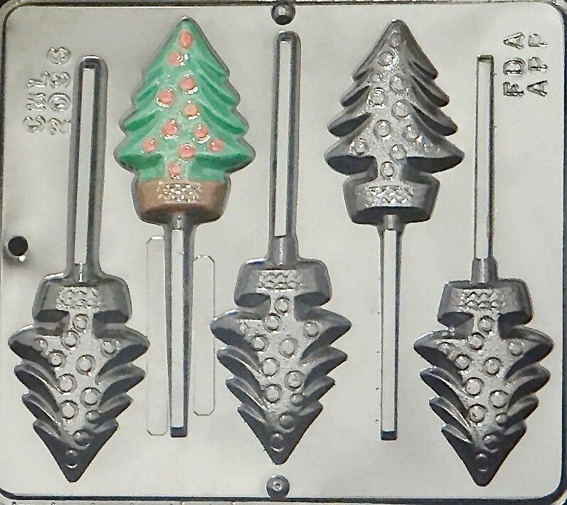 Christmas Chocolate Candy Molds  Christmas Tree Lollipop Chocolate Candy Mold Christmas