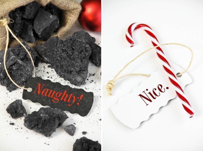 Christmas Coal Candy  Christmas Coal Candy
