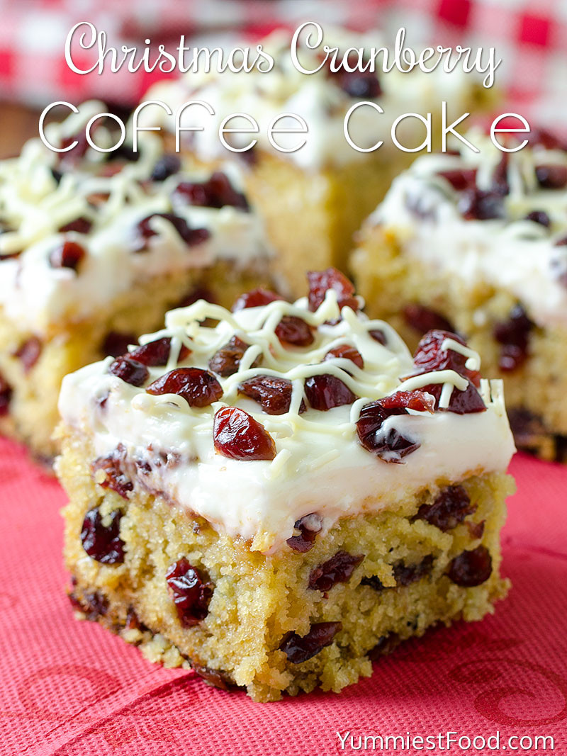 Christmas Coffee Cakes Recipes  Christmas Cranberry Coffee Cake Recipe from Yummiest