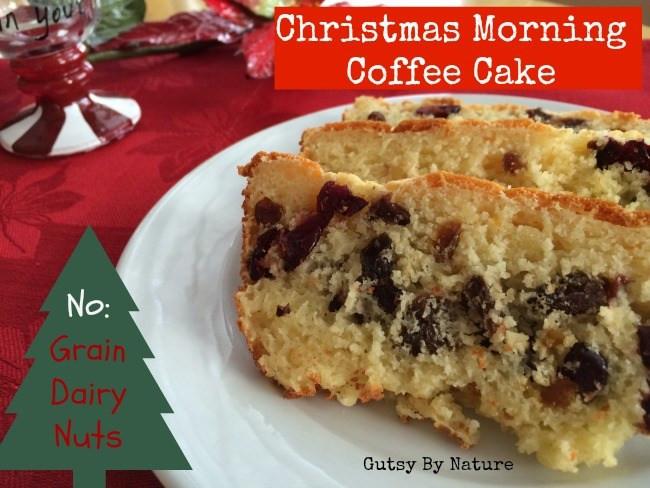 Christmas Coffee Cakes Recipes  Christmas Morning Coffee Cake Grain Free Dairy Free Nut