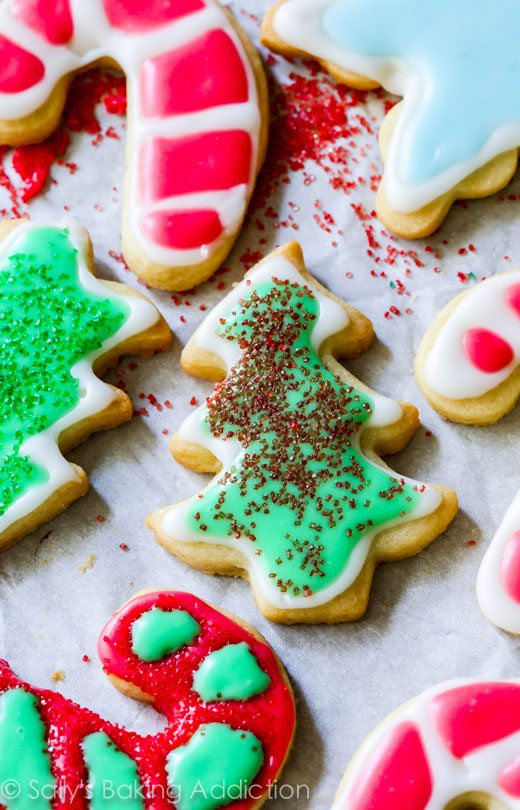 Christmas Cookie Icing Recipe  Christmas Sugar Cookies with Easy Icing
