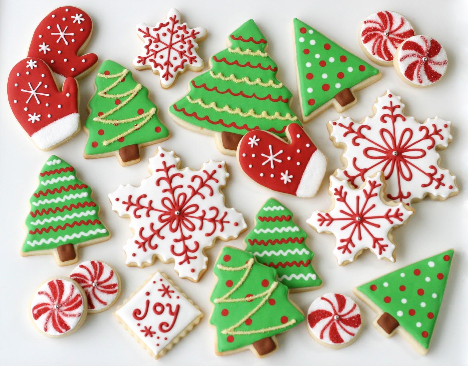 Christmas Cookie Icing Recipe  Christmas Cookies Galore Glorious Treats