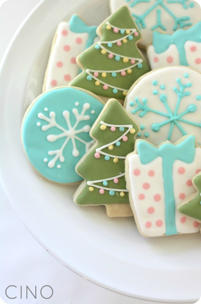 Christmas Cookie Icing Recipe  7 Christmas Sugar Cookies