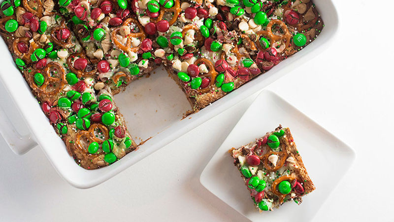 Christmas Cookies Bar  Christmas 7 Layer Cookie Bars Recipe Tablespoon