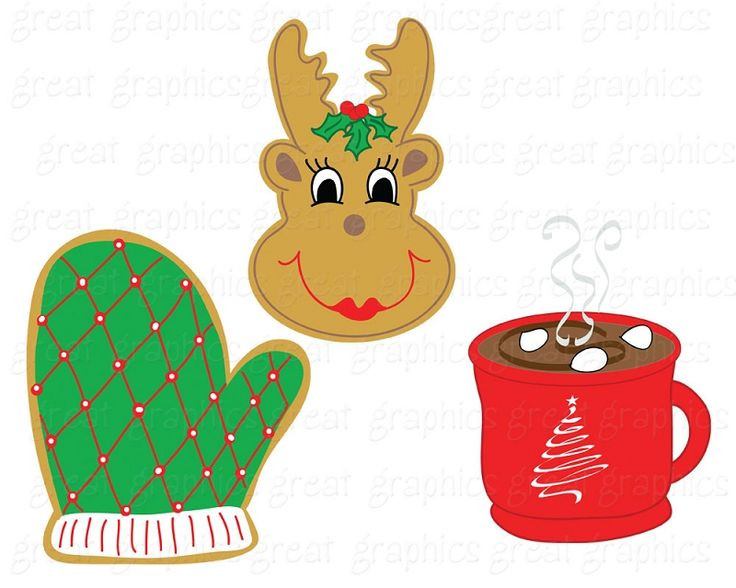Christmas Cookies Clipart  100 best Christmas Cookies images on Pinterest