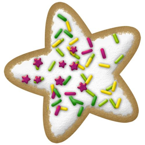 Christmas Cookies Clipart  100 best images about Christmas Cookies on Pinterest