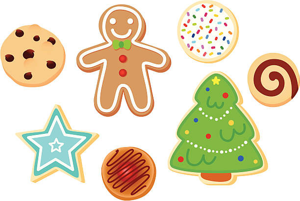 Christmas Cookies Clipart  Top 60 Christmas Cookies Clip Art Vector Graphics and