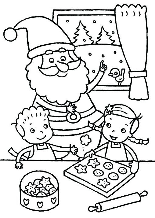 Christmas Cookies Coloring Pages  Cookie Coloring Pages Best Coloring Pages For Kids