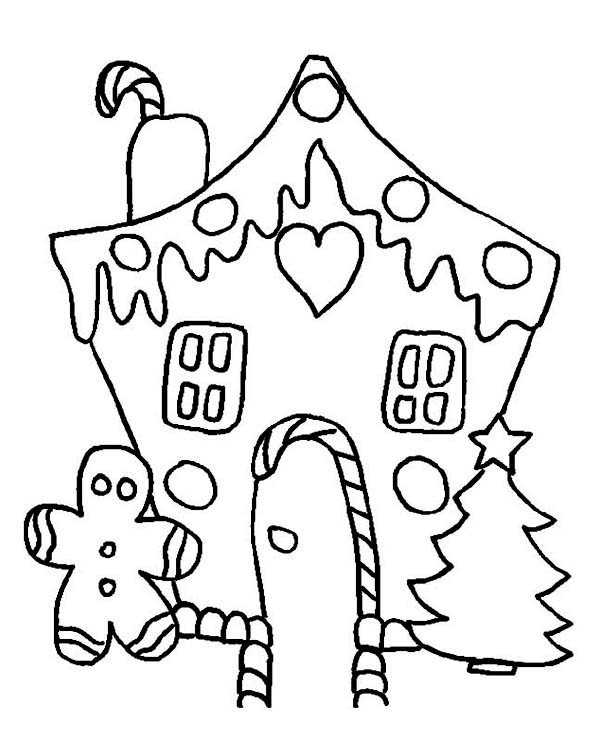 Christmas Cookies Coloring Pages  Delicious Christmas Cookies on Christmas Coloring Page