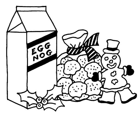 Christmas Cookies Coloring Pages  Coloring Pages – Christmas