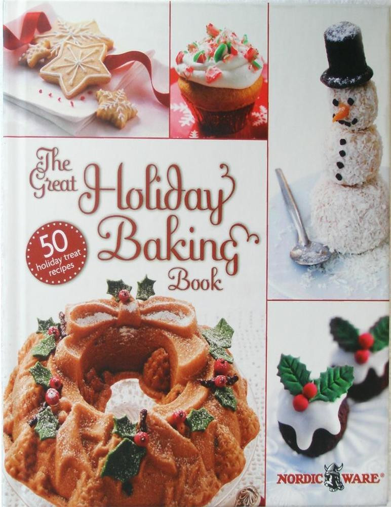 Christmas Cookies Cookbooks  Nordicware GREAT HOLIDAY BAKING BOOK Hard Cover Cookbook