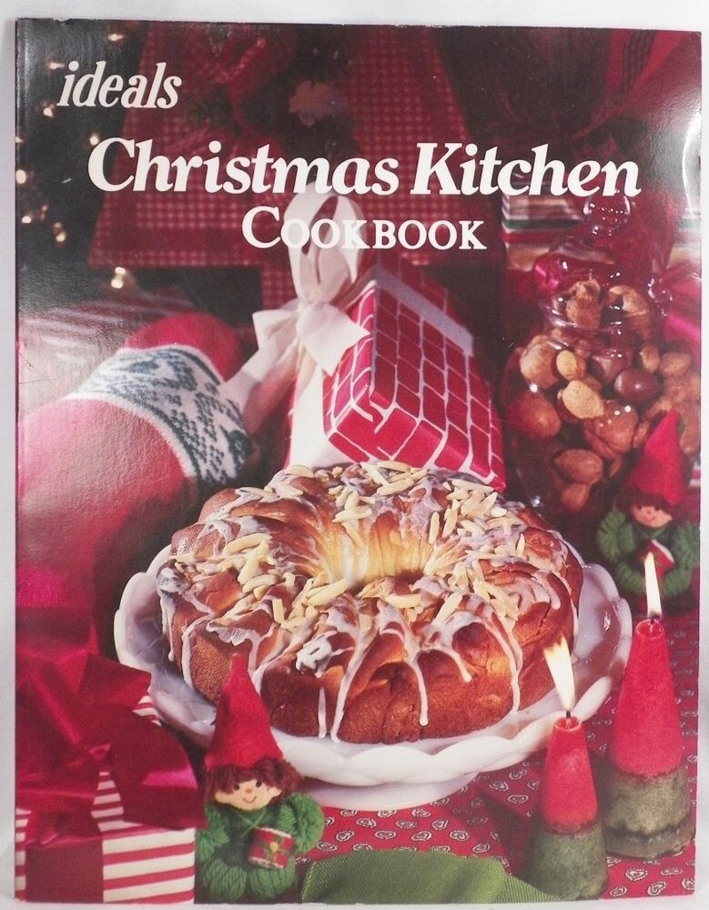 Christmas Cookies Cookbooks  Ideals Christmas Kitchen Cookbook Great Holiday Recipes