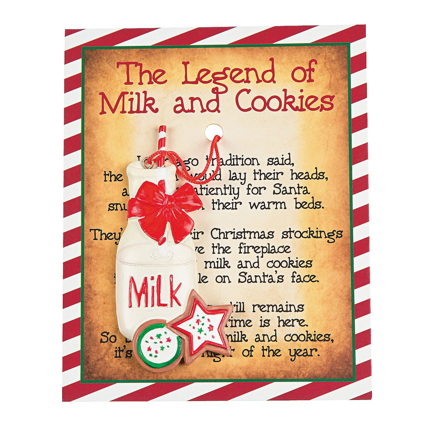 Christmas Cookies Country Song  The legend of Milk and cookies ornaments