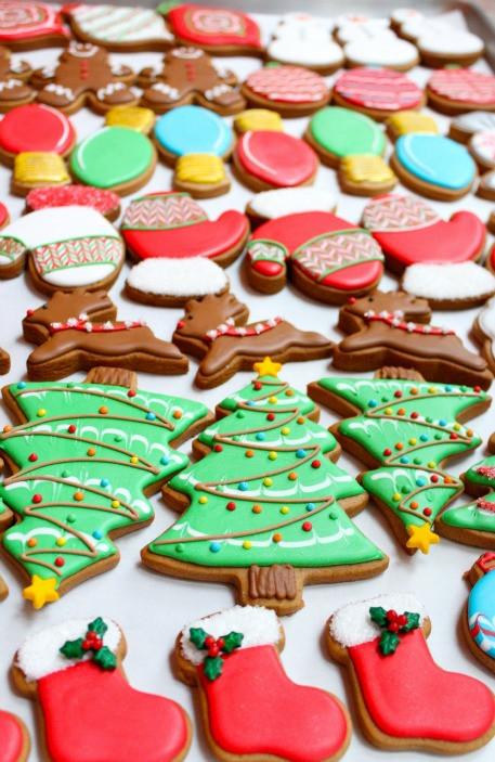 Christmas Cookies Decorated  Christmas Cookies